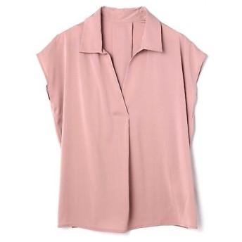 PROPORTION BODY DRESSING / プロポーションボディドレッシング ジョーゼットシャツブラウス 半袖