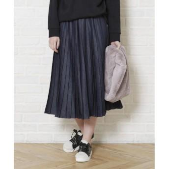 LIPSTAR / リップスター デニムプリーツスカート