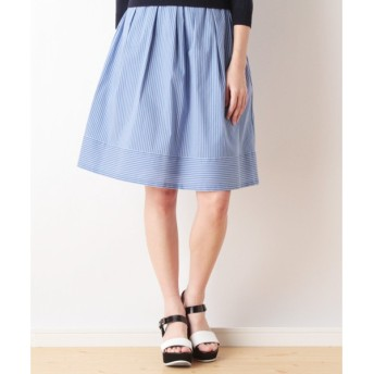 Harriss / ハリス コードストライプストレッチギャザースカート