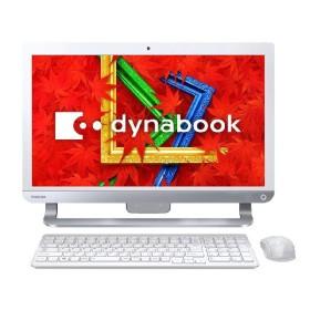 東芝 デスクトップパソコン 東芝 REGZA PC D513 D513/32KW PD51332KSXW [リュクスホワイト] 【取寄せ代引不可】