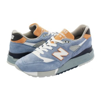 NEW BALANCE M998XAB 【MADE IN U.S.A.】 【Dワイズ】 ニューバランス M 998 XAB DUSTY BLUE