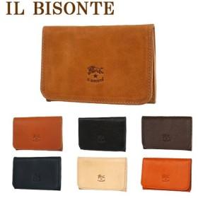 IL BISONTE(イルビゾンテ)C0470P カードケース(名刺入れ) 選べるカラー