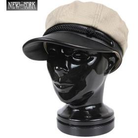 New York Hat ニューヨークハット 6019 Canvas Brandoキャスケット カーキ [6019] ブランド