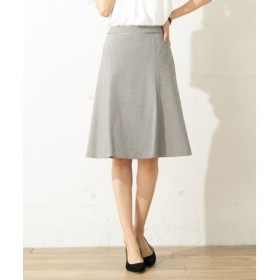 L size ONWARD(大きいサイズ) / エルサイズオンワード 【洗える&セットアップ対応】ハイゲージモクロディ スカート