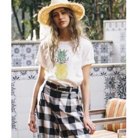 LIPSTAR / リップスター パイナップルプリントTシャツ