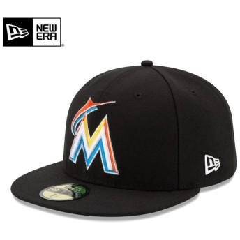 NEW ERA ニューエラ 59FIFTY MLB On-Field マイアミ・マーリンズ キャップ