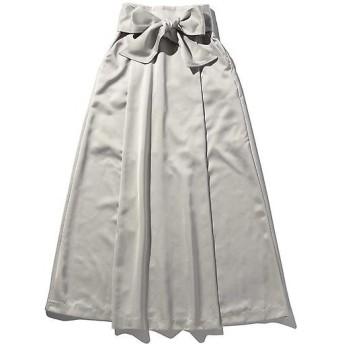 ROSE BUD / ローズ バッド ウエストリボンスリットスカート