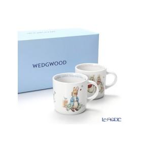 ウェッジウッド(Wedgwood) ピーターラビット マグ 210ml ペア(ボーイズ&ガールズ)