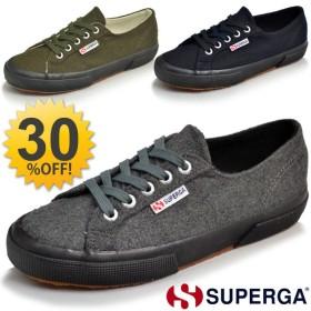SUPERGA スペルガ/レディース スニーカー シューズ 靴 ローカット ウール/S008020