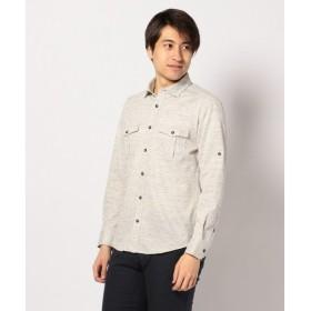 JOSEPH ABBOUD / ジョセフ アブード リネンカットシャツ シャツ
