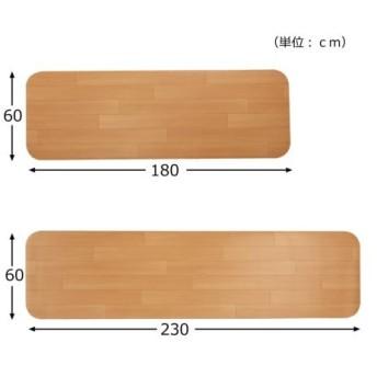キッチン マット ピタッとズレない 日本製 吸着 ワイドタイプ/抗菌加工 年中 約 60×180cm ニッセン