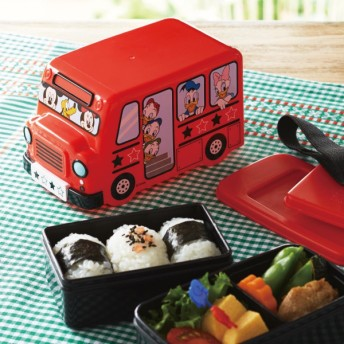 お弁当箱 お弁当用袋 ディズニー バス型ランチボックス