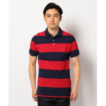 J.PRESS / ジェイプレス ヴィンテージカノコワイドボーダー ポロシャツ