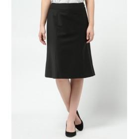 L size ONWARD(大きいサイズ) / エルサイズオンワード T/Wトルキッシュスーティング フレアスカート
