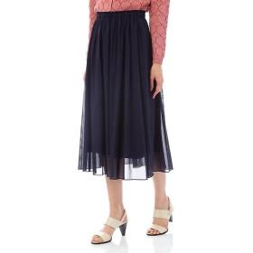 NATURAL BEAUTY / ナチュラルビューティー STボイルギャザースカート