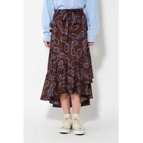 ROSE BUD / ローズ バッド [sweet12月号掲載]フラワーロングスカート