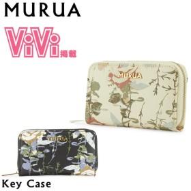ムルーア MURUA キーケース MR-W553 ROSE  レディース