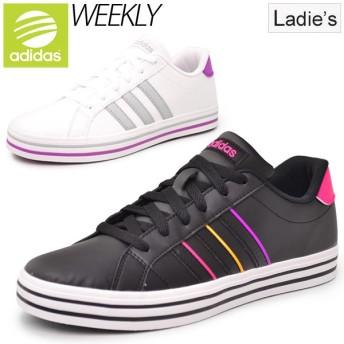 アディダス adidas NEO Label レディーススニーカー WEEKLY W カジュアルシューズ ウィークリーW コートスタイル 女性用 紐靴/AW5174/AW5175 婦人靴 /WEEKLY