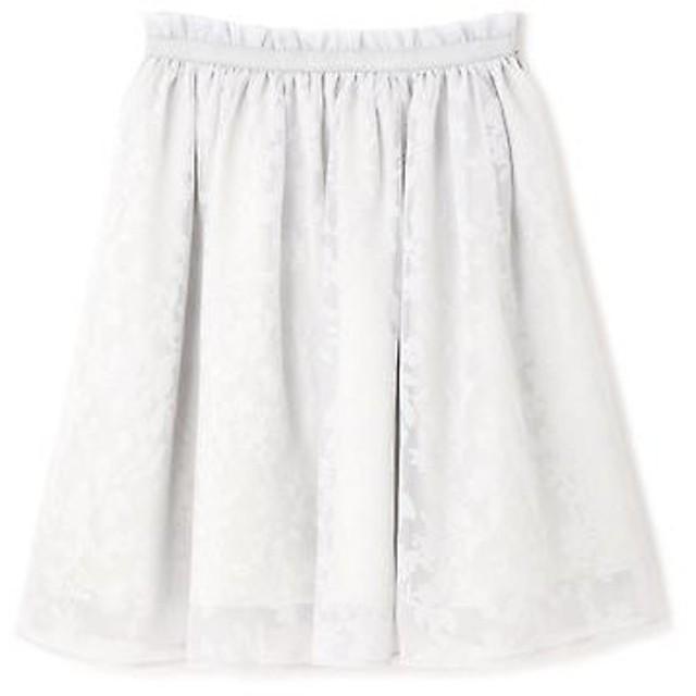 PROPORTION BODY DRESSING / プロポーションボディドレッシング  《EDIT COLOGNE》シアーチェックプチフラワースカート