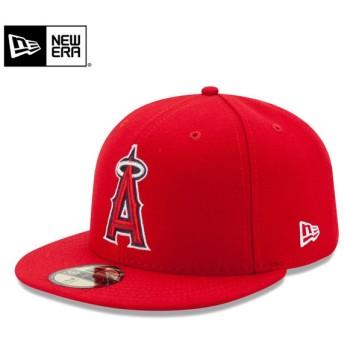 【メーカー取次】 NEW ERA ニューエラ 59FIFTY MLB On-Field ロサンゼルス・エンゼルス・オブ・アナハイム レッド 11449402 キャップ【Sx】