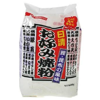 日清 お好み焼粉 鰹・昆布の風味 600g