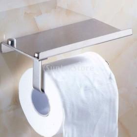 ステンレス 浴室 タオル トイレット ペーパー ホルダー ストレージ ペーパー ホルダー 耐久性