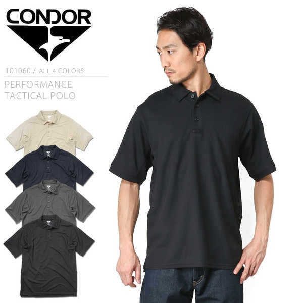 Condor 101060 Tactical Short Sleeve Polyester Performance Polo Shirt All Colors Online Discount Clothing, Shoes & Accessories Hunting