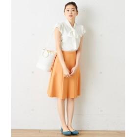 S size ONWARD(小さいサイズ) / エスサイズオンワード 【通常販売開始!】リネンライクツイル スカート