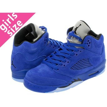NIKE AIR JORDAN 5 RETRO BG 【BLUE SUEDE】 ナイキ エア ジョーダン 5 レトロ BG GAME ROYAL/BLACK/GAME ROYAL