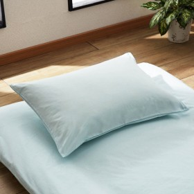 布団カバー 掛け布団カバー 日本製 抗菌 防臭加工の掛け布団カバー 枕カバー 単品 マリンブルー 枕カバー