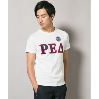 J.PRESS / ジェイプレス Russell Athletic×J.PRESS クルーネック プリントTシャツ