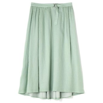 HUMAN WOMAN / ヒューマンウーマン 綿麻ボイルスカート