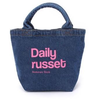Daily russet / デイリーラシット デニムトートバッグ(S)/TOTEBAG