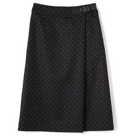 HUMAN WOMAN / ヒューマンウーマン サキソニードットスカート
