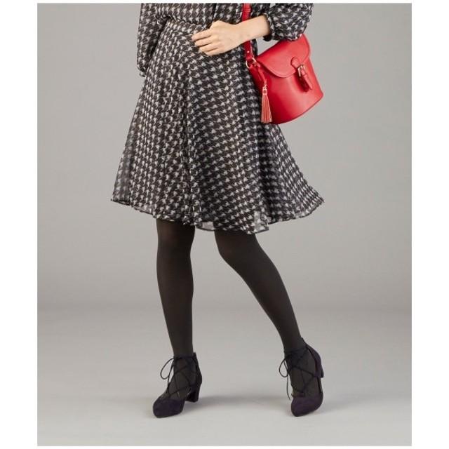 組曲 / クミキョク 【洗える】クラシックパターンプリント スカート