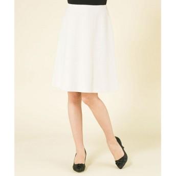 any SiS エニィスィス リップルボーダーストレッチスカート