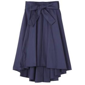 N.Natural Beauty Basic / エヌ ナチュラルビューティーベーシック イレギュラーヘムリボンスカート