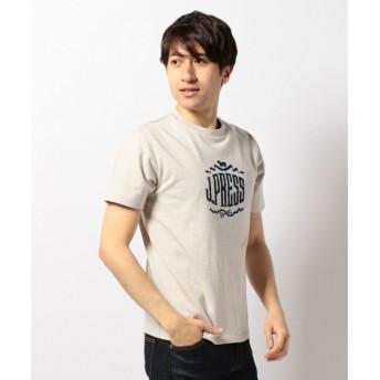 J.PRESS / ジェイプレス オーバルプリントベーシックTシャツ