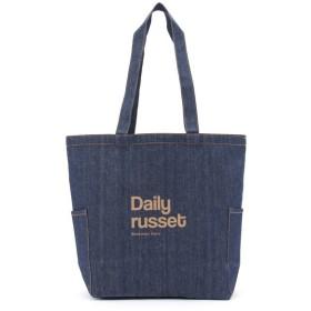 Daily russet / デイリーラシット デニムマルチトートバッグ(M)