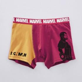 ボクサーパンツ パンツ メンズ インナー 肌着 前とじ ディズニー マーベル アイアンマン M L LL 3L
