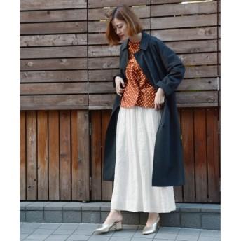 NIMES / ニーム リネン ギャザーギャザースカート