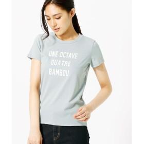 COMME CA ISM / コムサイズム シンプルロゴTシャツ