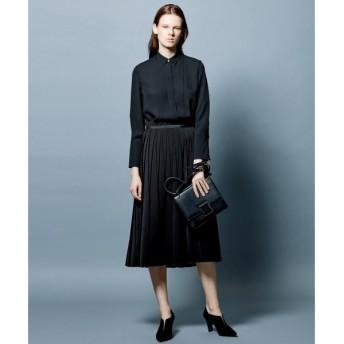 L size ONWARD(大きいサイズ) / エルサイズオンワード 【Guest Wear】【セットアップ可】Lux Double Face スカート