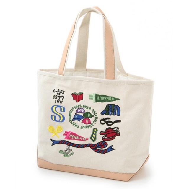 SHIPS for women / シップスウィメン ANATHA:キャンバス×レザートート(2)