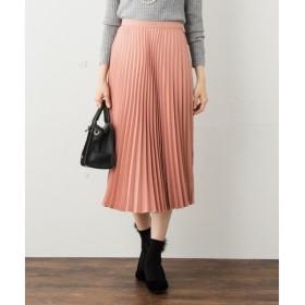 S size ONWARD(小さいサイズ) / エスサイズオンワード 【洗える】オータムミモレ プリーツスカート