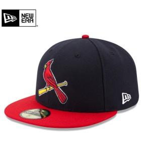 セール21%OFF!【メーカー取次】 NEW ERA ニューエラ 59FIFTY MLB On-Field セントルイス・カージナルス ネイビーXレッド 11449338 キャップ