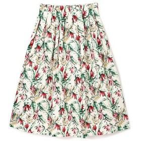 PROPORTION BODY DRESSING / プロポーションボディドレッシング  《BLANCHIC》ボタニカルプリントスカート