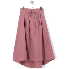 BEARDSLEY / ビアズリー コットン×ナイロンロングテールスカート