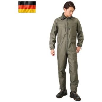 実物 新品 ドイツ軍 タンカー カバーオール ライナー付 メンズ ミリタリー つなぎ 作業服 軍物 軍用 デッドストック
