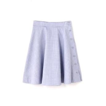 PROPORTION BODY DRESSING / プロポーションボディドレッシング  カラーシャンブレーフレアスカート